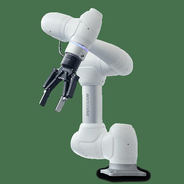 Pinza di presa collaborativa adattabile ai robot Doosan per un miglioramento del processo produttivo